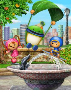 Team Umizoomi Pictures and Characters: Team Umizoomi