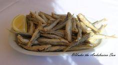 Boquerones Fritas- fried little fish, Torremolinos