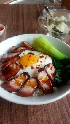 barbeque pork ~ char siew rice