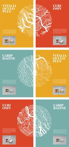 MEDICINE PACKAGE DESIGN / 2012 by Dora Novotny, via Behance