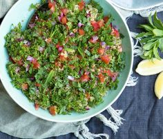 Tabouli-style Broccoli & Quinoa Salad