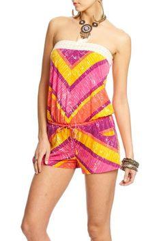 2b Tiffany Crochet Tube Romper