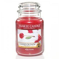 Oh wie lecker <3 Yankee Candle Duftkerze Housewarmer Cherries On Snow
