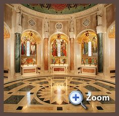Basilica of the National Shrine of the Immaculate Conception, Glorious Mysteries Chapels, Washington, DC