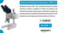 #Buy #Online Monocular Metallurgical #Microscopes - LTMM - 55 Read More at:-http://goo.gl/COKt84