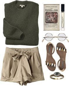 """""""les fleurs du mal"""" by rosiee22 ❤ liked on Polyvore"""