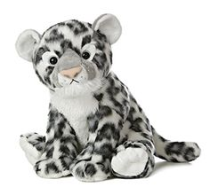 Aurora World Destination Nation Plush, Snow Leopard Auror...