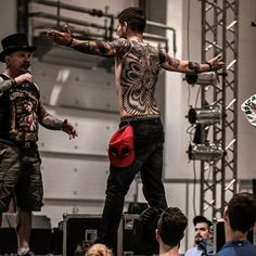"Like A Boss . My Back piece tattoo made by @ilyacascad with @worldfamousink took first place in the nomination ""ornamental tattoo"" at Krasnodar Tatto Festival 2016  #krdtattoofest #krdtattoofest2016 #tattoo #blacktattoo #tattooartist #tattoofest #татуфестиваль #татуировка #тату #dotworktattoo #tattoomodel #inked #worldfamousink by nikkfreak"
