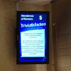 Digital Signage integration - Trivia and queue management