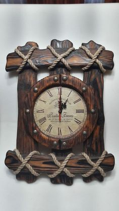 23 Clever DIY Christmas Decoration Ideas By Crafty Panda Wood Projects, Woodworking Projects, Woodworking Plans, Bois Diy, Wall Clock Design, Diy Clock, Wood Clocks, Rustic Furniture, Wood Pallets