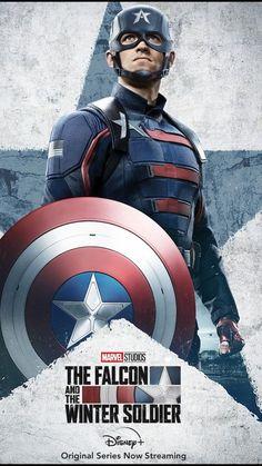 #marvel #thefalconandthewintersoldier #falcaoeosoldadoinvernal #wintersoldier #thefalcon #johnwalker Ms Marvel, Captain Marvel, Marvel Avengers, Mundo Marvel, Marvel Heroes, Captain America Poster, Captain America Shield, Milla Jovovich, Bucky Barnes