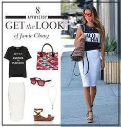 Get the look: Το stylish πρωινό look της Jamie Chung
