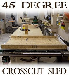 Perfect Mitered Panels With A 45 Degree Crosscut Sled – Jays Custom Creations