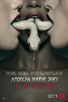 'American Horror Story: Coven' Poster: Snake & Mouths (PHOTO)