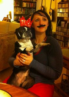 We mustache you a question. Did you get me a present? Happy 3rd birthday Igor! To many more adventures together!