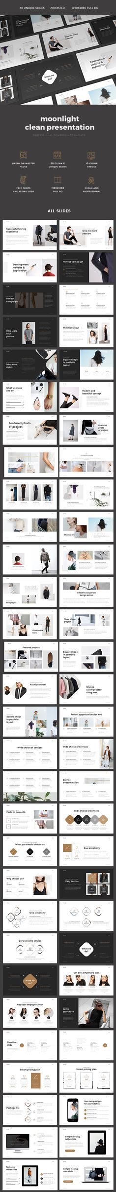 #Minimal Fashion Presentation - #PowerPoint Templates Presentation Templates