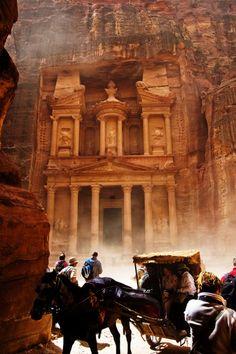 Petra, Jordan #CMGlobetrotters