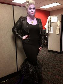 Plus size ursula costume! Received so many compliments on it. :-)