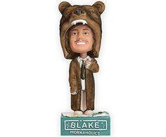 WORKAHOLICS – BLAKE BEAR COAT BOBBLEHEAD