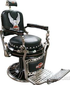 Harley barber chair.
