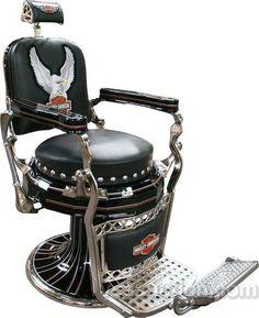 Harley barber chair.