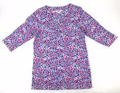 Girls VINEYARD VINES SZ L BOHEMIAN RED WHITE BLUE SHIRT DRESS EUC #vineyardvines $15.95