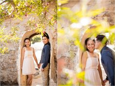 Mission San Juan Capistrano Engagement Session by Theresa Bridget Photography