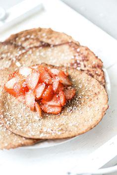 Ontbijt pannenkoeken recept