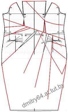 DIY Vestido strapless 1/2