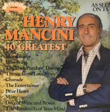 Henry Mancini - 40 Greatest (Vinyl, LP) at Discogs Vinyl Cover, Lp Vinyl, Vinyl Records, Henry Mancini, Pink Panther Theme, Lps For Sale, Jazz, Misty Day, Lennon And Mccartney