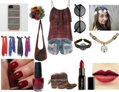 """""""13em tenue collection """"News Hippie Chic"""""""" by ahlem-belieber on Polyvore"""