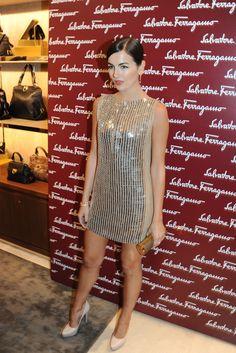 Ferragamo Hosts London Dinner - Camilla Belle