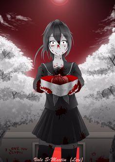 Heres my Valentines gift Senpai