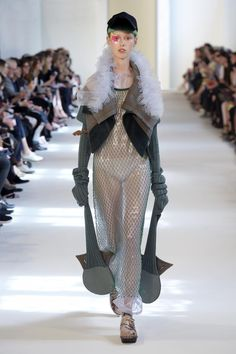 Discover the Maison Margiela Autumn-Winter 2016 'Artisanal' Collection Fall Winter, Autumn, Margiela, Big Fashion, Fall 2016, Artisan, Collection, Backstage, Dresses