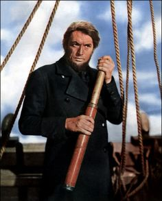 """Gregory Peck in """"Moby Dick"""", 1956"""