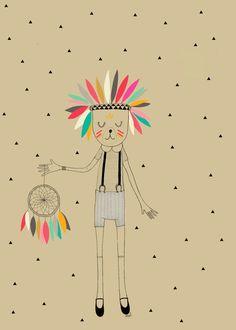 Print Dreamcatcher by Minimel