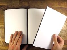 This innovative notebook allows for easy removal and reattachment of pages, thanks to its magnetic spine.