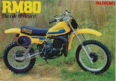 Suzuki RM 80, circa 1983