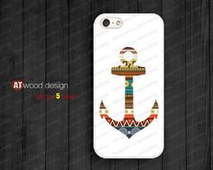 NEW iphone 5 cases iphone 5 case iphone 5 cover anchor graphic atwoodting design on Wanelo