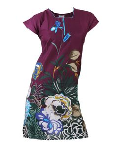 Buy Bulbul Ladies Cotton Kurti - 102AA (Purple) with cheapest price at Grabmore.in - Online Shopping of Clothing & Accessories in India.