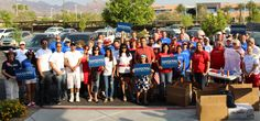 Team Sandoval Volunteers gearing up for the Summerlin Fourth of July Parade! Join the team and volunteer here: http://briansandoval.com/volunteer