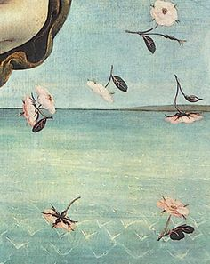 Sandro Botticelli, The Birth of Venus, detail (c. 1485)