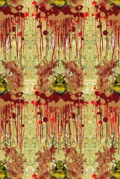 Buy Timorous Beasties Bloody Empire Wallpaper online with Houseology's Price Promise. Full Timorous Beasties collection with UK & International shipping. Empire Wallpaper, Grey Wallpaper, Eclectic Wallpaper, Timorous Beasties, Wonderwall, Textile Prints, Textiles, Textile Patterns, Textile Design