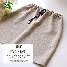 DIY Paper Bag Princess Skirt!