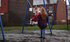 Up to 1.6 million children in the UK are living in poverty. Photograph: Christopher Furlong/Getty Images