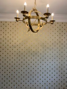Bumblebee installed in entryway Beautiful Wallpaper, Entryway, Wall Lights, Lighting, Home Decor, Vintage Accessories, Entrance, Appliques, Decoration Home