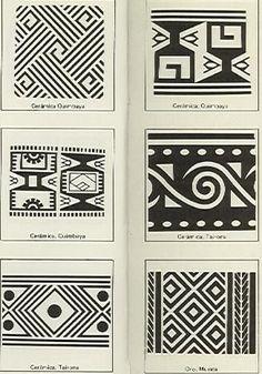 Dibujos sobre arte precolombino - Antonio Grass:: Arte Tribal, Tribal Art, Tribal Images, Ethnic Patterns, Textures Patterns, Pattern Art, Pattern Design, Colombian Art, Indigenous Art