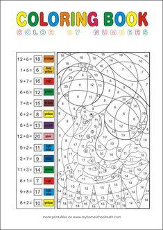 rechnen und malen zr 20 matheaufgaben f r die 1 klasse mathematik in der grundschule matika. Black Bedroom Furniture Sets. Home Design Ideas