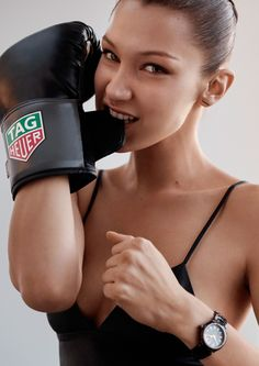 Bella Hadid now becomes part of the Tag Heuer family
