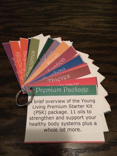 Premium Starter Kit card set -- great for classes, workshops, meetings or just to keep nearby for reference. Free file download plus links to purchase cards and rings!